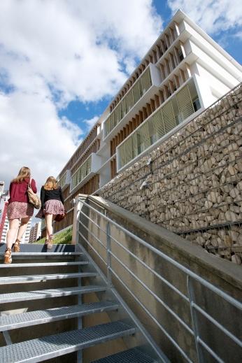 Résidence universitaire des Facultés - agence Photografis - octobre 2011